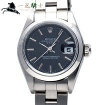 Rolex Oyster Perpetual Lady Date Staal 26mm Zwart
