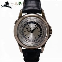 Patek Philippe 5130G-001 Or blanc 2007 World Time 40mm occasion