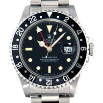 Rolex GMT-Master Сталь 40mm Черный