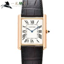 Cartier W1560017 Rose gold Tank Louis Cartier 40mm pre-owned