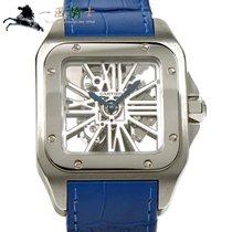 Cartier Палладий Механические Прозрачный 55mm подержанные Santos 100