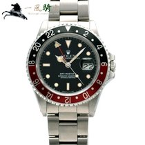 Rolex 16760 Steel GMT-Master II 40mm pre-owned