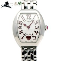 Franck Muller Heart Steel 31mm Silver