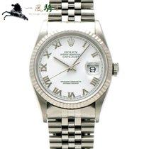 Rolex Datejust Stahl Weiß