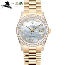 Rolex 118388NG Or jaune 2012 Day-Date 36mm occasion