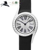 Piaget new Quartz 25mm White gold Sapphire crystal