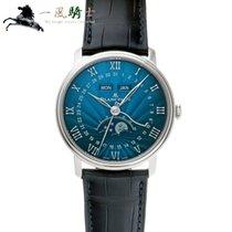 블랑팡 화이트골드 40mm 자동 6654-1529-55B 중고시계