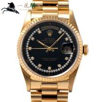 Rolex Day-Date 36 Жёлтое золото 36mm Чёрный