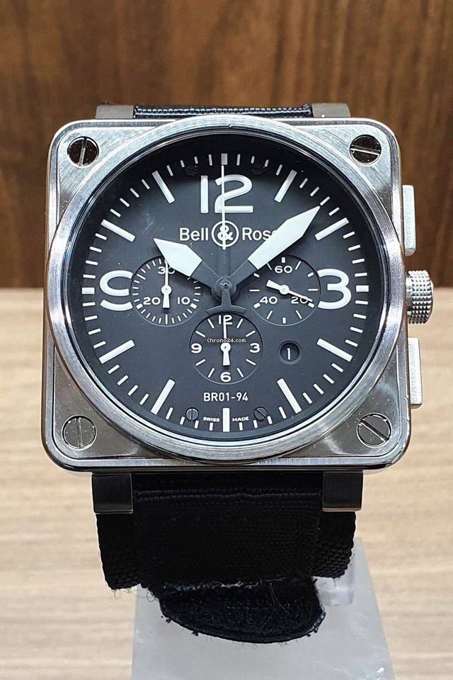 Bell & Ross BR 01-94 Chronographe BR01-94-S 2007 подержанные
