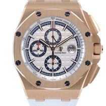 Audemars Piguet Royal Oak Offshore Or rose 44mm Remontage automatique Belgique, Bruxelles