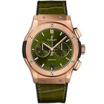 Hublot Classic Fusion Chronograph Oro rosa 42mm Verde Sin cifras