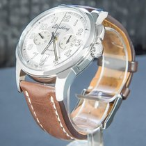 Breitling Transocean Chronograph 1915 AB141112/G799/740P/A20D.1 Very good Steel 43mm Manual winding