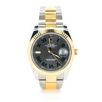 Rolex Datejust II pre-owned 41mm Bronze Date Gold/Steel