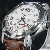 Raymond Weil Parsifal Steel 40mm Silver Roman numerals
