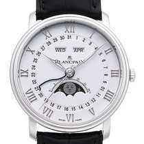 Blancpain Villeret Quantième Complet neu 2021 Automatik Uhr mit Original-Box und Original-Papieren 6654-1127-55B