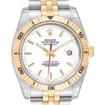 勞力士 Datejust Turn-O-Graph 新的 2004 自動發條 附正版包裝盒和原版文件的手錶 116263
