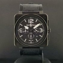 Bell & Ross BR 01-94 Chronographe pre-owned 46mm Black Chronograph Date Textile