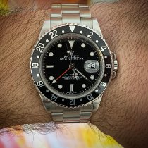 Rolex GMT-Master II Acier 40mm Noir Sans chiffres France, Nice