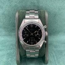 Rolex Chronograph Сталь 36mm Черный Без цифр