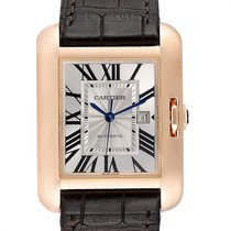 Cartier Tank Anglaise Rose gold 39mm Silver Roman numerals United States of America, Georgia, Atlanta
