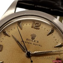 Rolex Acero 32mm Plata Arábigos