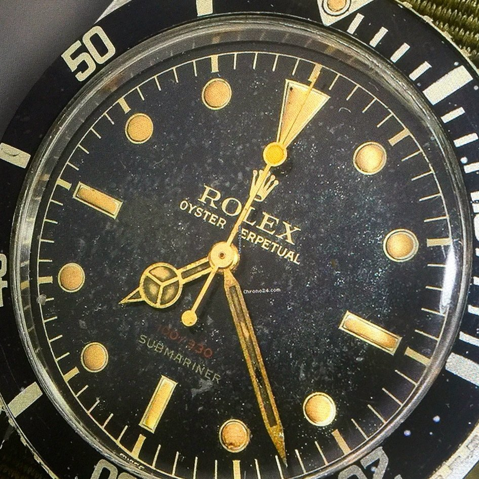 Rolex Submariner (No Date) 6536/1 1955 pre-owned