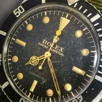 Rolex Submariner (No Date) Stahl Schwarz Keine Ziffern Deutschland, Eltville