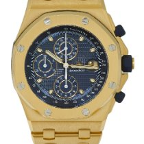 Audemars Piguet Royal Oak Offshore Chronograph Κίτρινο χρυσό 42mm Μπλέ