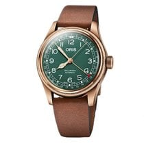 Oris Big Crown Pointer Date Bronze 40mm Green Arabic numerals