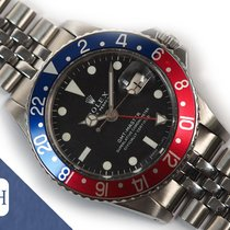 Rolex 1675 Steel 1969 GMT-Master 40mm pre-owned