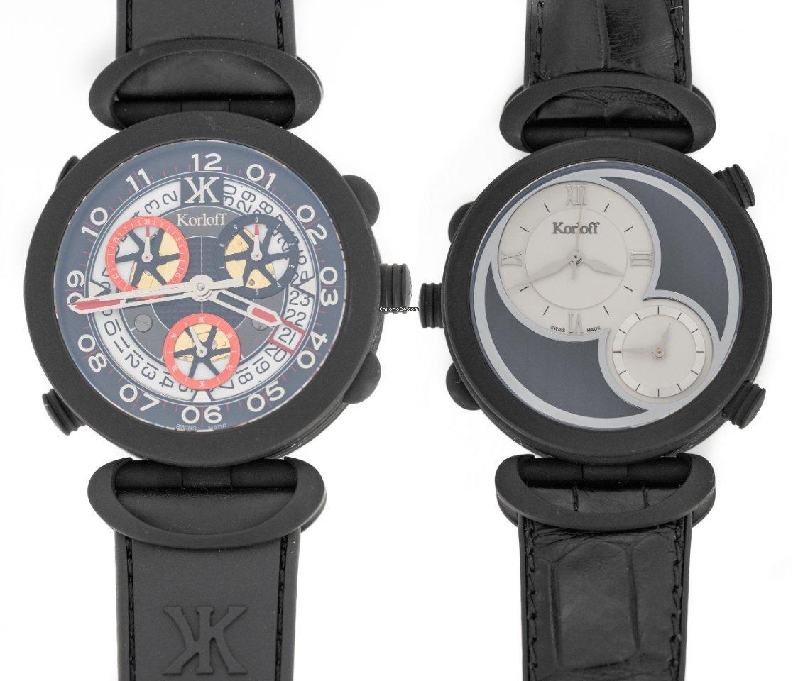 Korloff Grand Prix Highway Chronograph Edition Black PVD CR1NR
