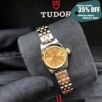 Tudor Prince Date Acero y oro 22mm Champán