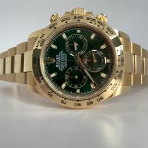 Rolex Daytona Rose gold 40mm Green No numerals