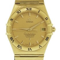 Omega Constellation Yellow gold 38mm Champagne United States of America, Florida, Boca Raton