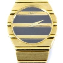 Piaget Polo Yellow gold 26mm Black No numerals