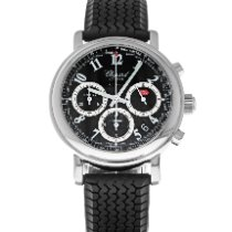 Chopard Steel Automatic Black Arabic numerals 39mm pre-owned Mille Miglia