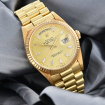 Rolex Day-Date 36 Yellow gold 36mm Gold No numerals Singapore