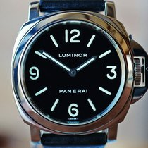 Panerai Luminor Base Steel 44mm Black United States of America, Missouri, Chesterfield