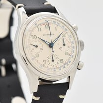 Wittnauer Steel 36mm Manual winding 6002/5 pre-owned United States of America, California, Beverly Hills