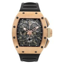 Richard Mille RM 011 Rose gold 42mm Transparent Arabic numerals