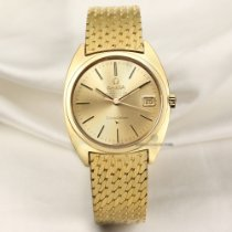 Omega Yellow gold Automatic 34.5mm pre-owned Constellation