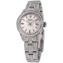 Rolex Datejust Steel 26mm Silver No numerals United States of America, New York, NEW YORK CITY