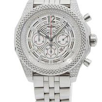 Breitling Bentley Barnato Steel 42mm Silver