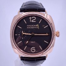 Panerai Radiomir 3 Days GMT Rose gold 47mm Brown Arabic numerals