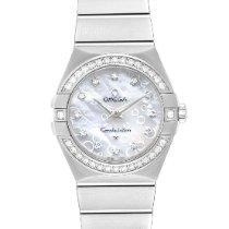 Omega Constellation Quartz new Quartz Watch with original box and original papers 123.15.27.60.55.005