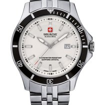 Swiss Military Hanowa Flagship Acero 42mm Plata
