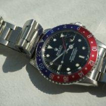 Rolex 16750 Сталь 1981 GMT-Master 40mm подержанные