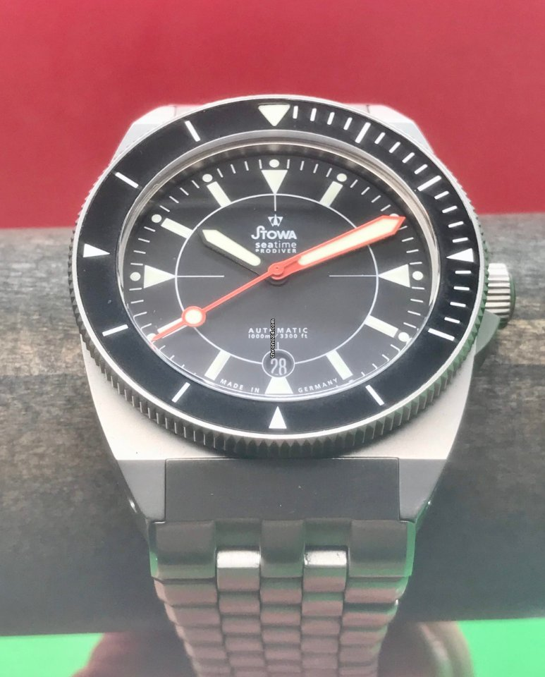 Stowa Seatime Prodiver 1000m German Made Swiss Automatic 42mm... for $1,695  for sale from a Trusted Seller on Chrono24