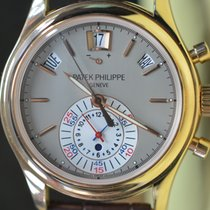 Patek Philippe Annual Calendar Chronograph Rose gold 40.5mm Grey No numerals United States of America, New York, New York