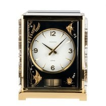 Jaeger-LeCoultre Atmos Yellow gold White Arabic numerals